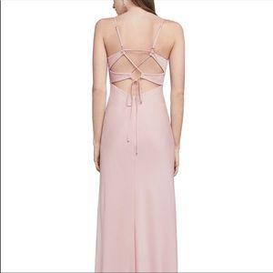 BCBGMaxAzria Dresses - BCBGMAXAZRIA Fae Lace-Up Gown